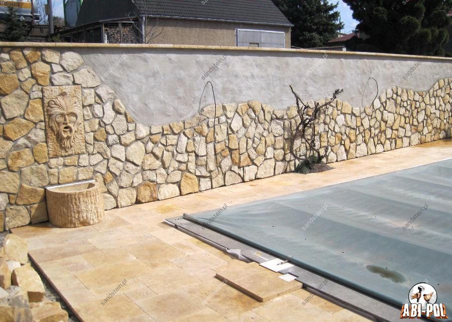 Fotogalerie unserer sandsteinprodukte - Natursteinplatten wand ...